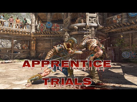For Honor - Early Access Arena Mode Apprentice Trials! New Exclusive Ornaments Emblems, And Outline!