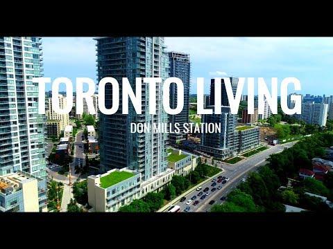 TORONTO LIVING - Don Mills Station - North York 4K