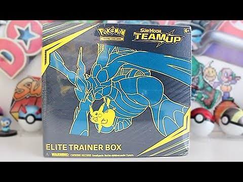 Opening A Team Up Elite Trainer Box!
