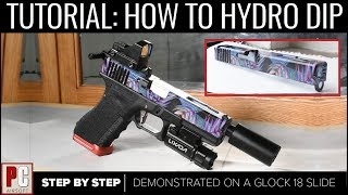 TUTORIAL: How to Hydro Dip | CUSTOM PAINT JOBS!