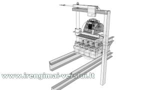 How It's Made. Manual Brick Making Machine Construction Plans.