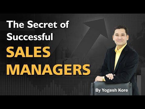 The Secret of Successful Sales Managers - Training for Sales Manager in Hindi & Urdu