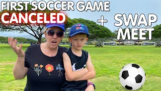 Very First Soccer Game Ever...RUINED || Mommy Monday