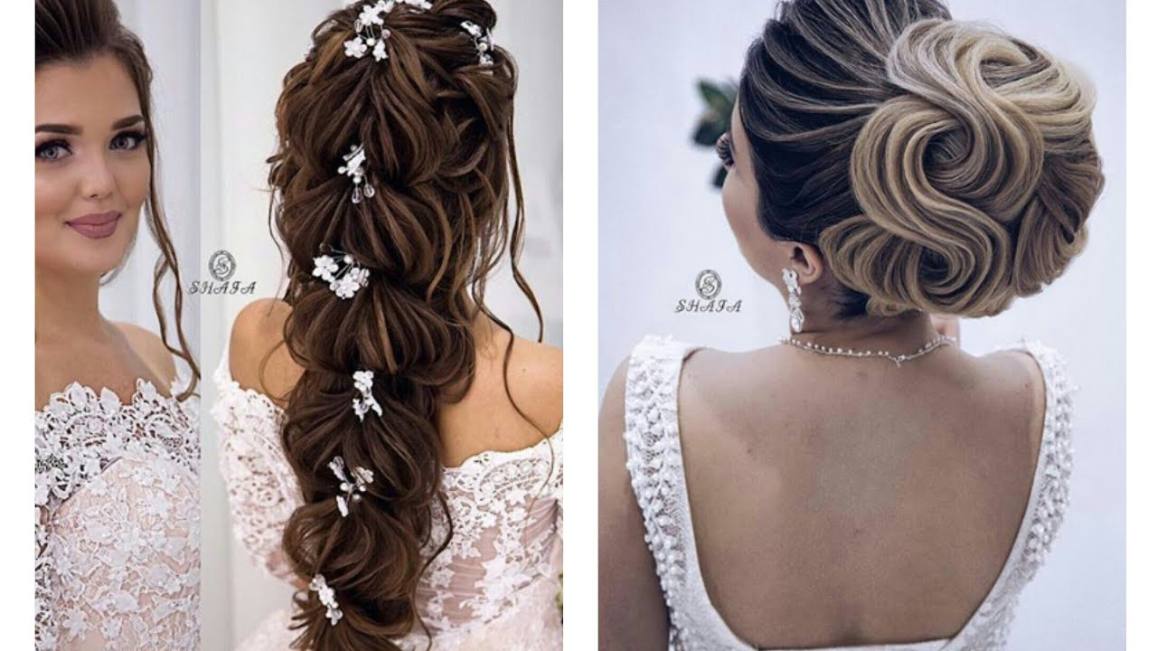 Romantic Wedding Hairstyles 2018