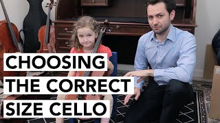 HOW TO: Choose the Correct Size Cello