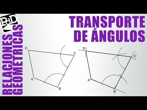 Transportar un polígono mediante transporte de ángulos (Igualdad).