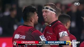 2018 Super Rugby Round 18: Crusaders vs Highlanders