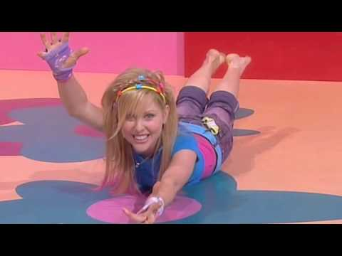 Hi 5 Charli Robinson >> Hi-5 - Charli's crocodile stretching - YouTube