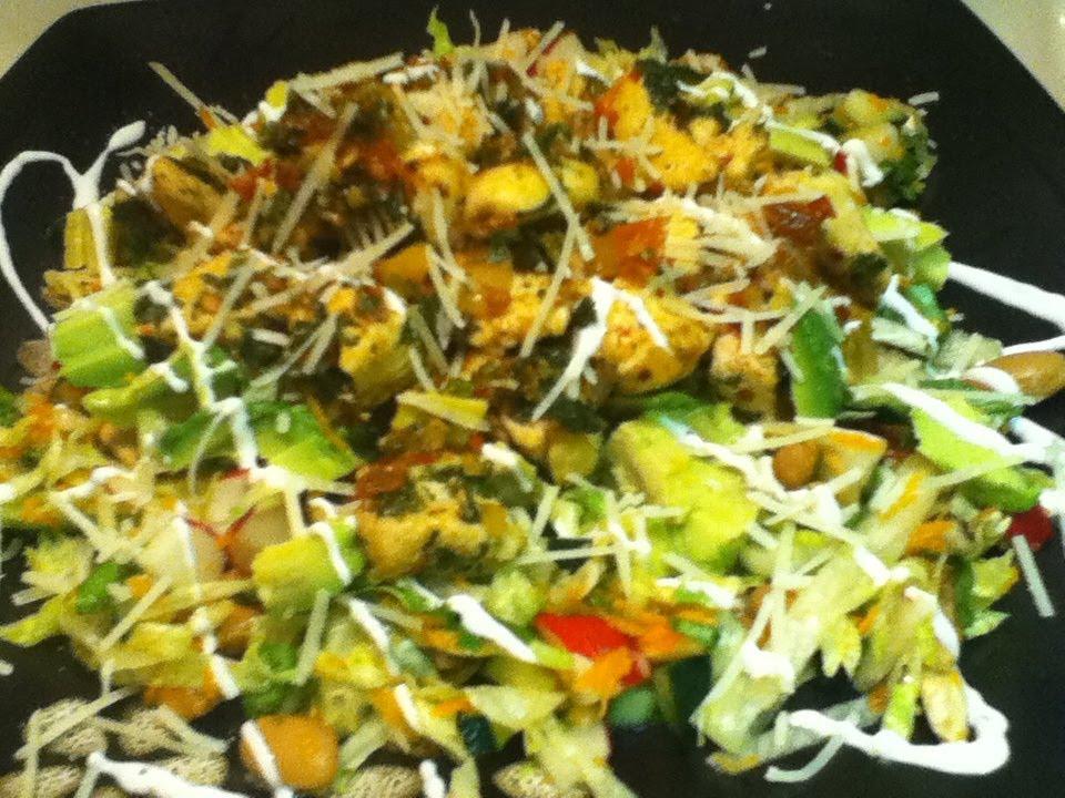 receta de ensala con pollo super facil de ensaladas youtube