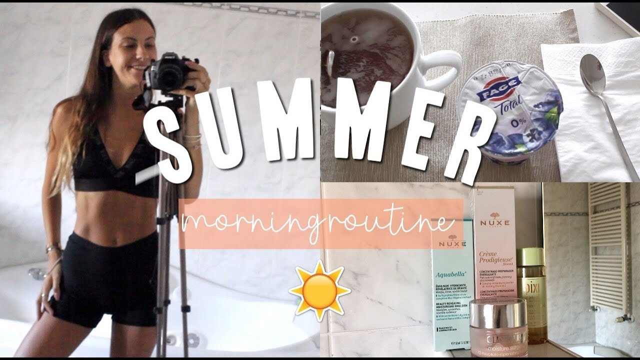 MY SUMMER MORNING ROUTINE 2020 !!  | Hei Mati