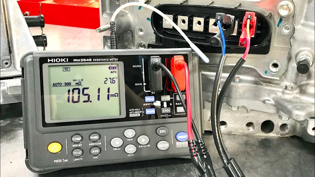 Milli Ohm Meter Hybrid And Ev Stator Fuse Wire Diagnostics Re A 2 To 4 Telephone Circuit