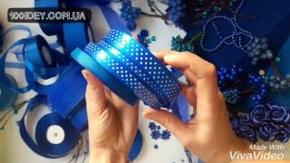 Лента атласная 1,5 см синяя в горошек(Арт.:503-025-15 Лента атласная 1,5 см синяя в горошек Цена: за 1 м: 1,70 грн за Рулон (45 м): 77,70 грн Понравился этот товар..., 2017-02-02T15:15:22.000Z)