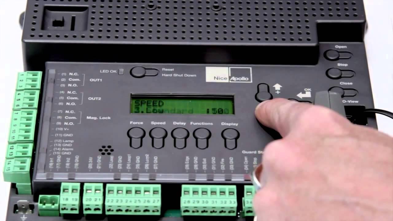 Nice Apollo 1050 Control Board Youtube