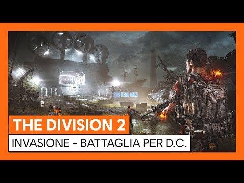 THE DIVISION 2 UFFICIALE - INVASIONE - BATTAGLIA PER D.C. TRAILER