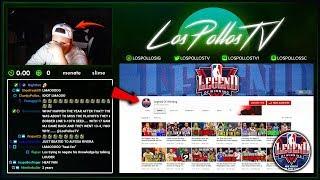 LosPollosTv Gets Into HEATED Debate W/ Popular NBA Youtuber
