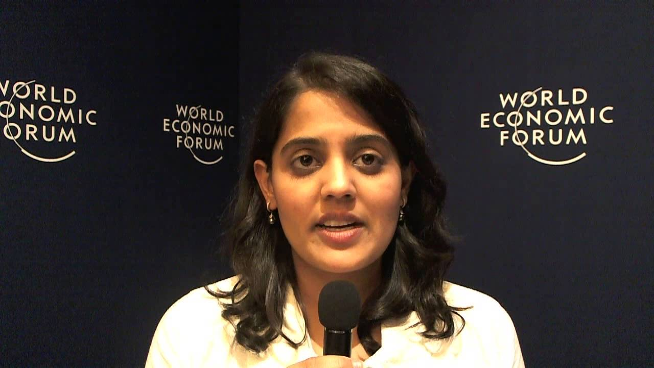 Ashni Mohnot - World Economic Forum on India 2012 social media corner