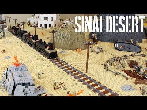 LEGO Battlefield 1: Building The Battle of the Sinai Desert: SEASON FINALE