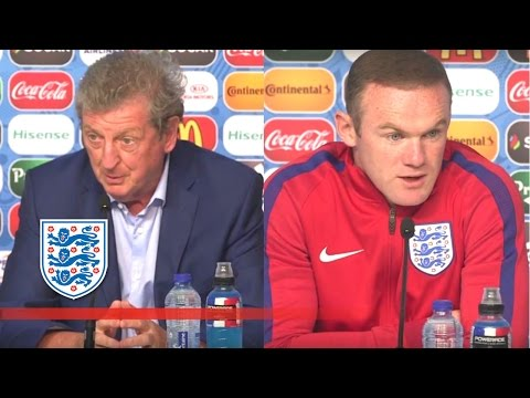 Roy Hodgson & Wayne Rooney respond to Gareth Bale comments (Euro 2016 Press Conference) | FATV News