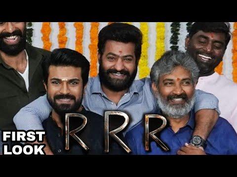 RRR Biggest Indian Film, Ramcharan, Junior NTR, SS Rajamouli, RRR South Indian Movie First Look