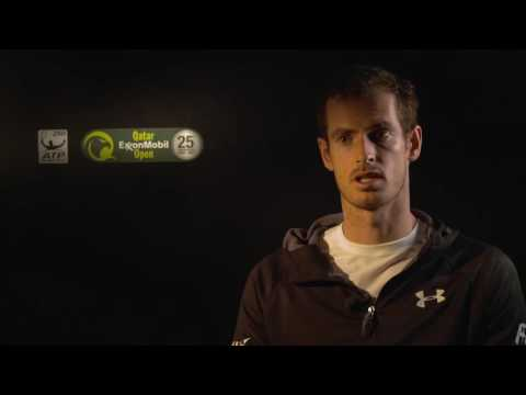 Murray Discusses Melzer Win In Doha