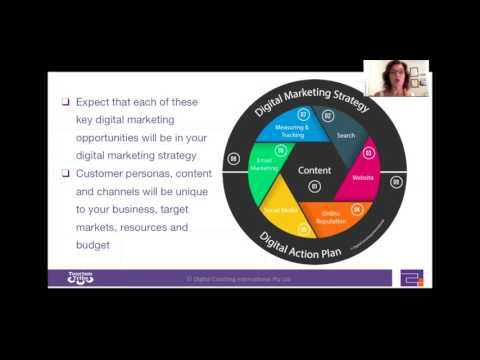 Digital Program Part 2: How to attract, engage, convert and delight more customers part 1