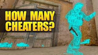 HOW MANY CHEATERS IN 10 OVERWATCHES? CSGO FISHY OR NOT FISHY