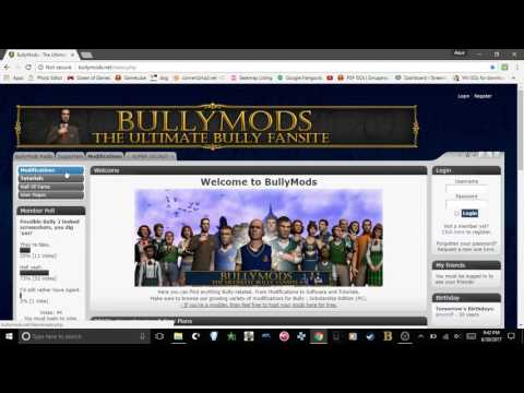 How To Mod Bully: Scholarship Edition For PC!