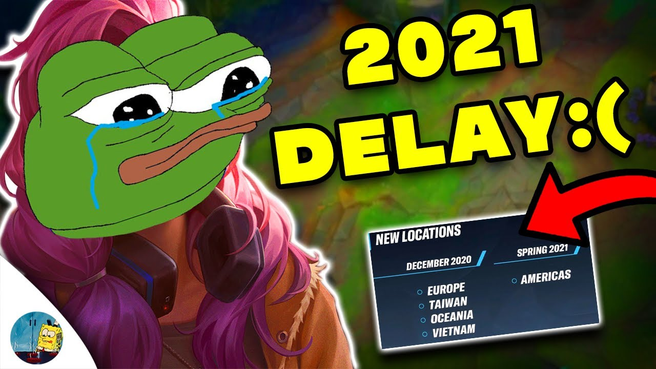WILD RIFT MASSIVE DELAY UNTIL 2021!!! (IM MAD)
