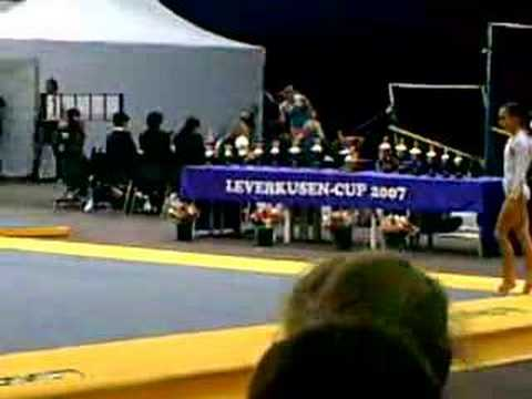 Raluca Haidu vloer leverkusen cup 2007