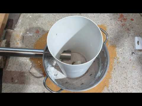 Homemade Backyard Aluminium and Brass Melting Foundry\Furnace Build