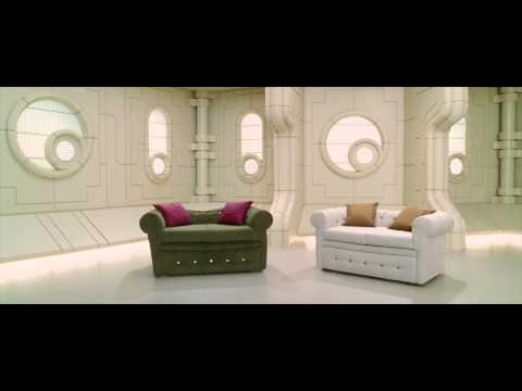 The Hitchhiker's Guide To The Galaxy - Sofa - Improbability Drive