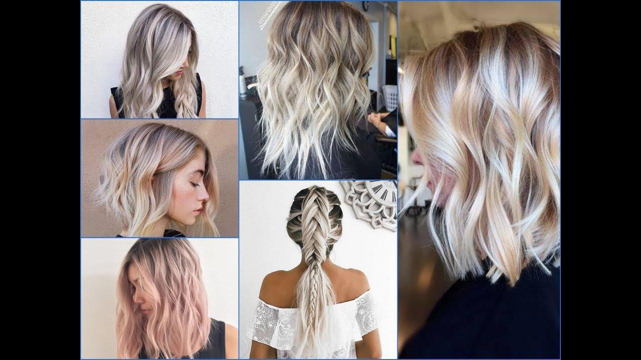 50 Amazing Blonde Balayage Hair Color Ideas 2018 Youtube