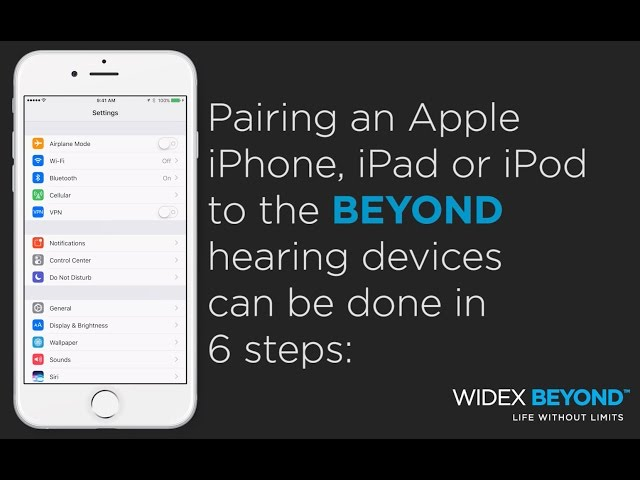 Widex BEYOND Pairing Tutorial