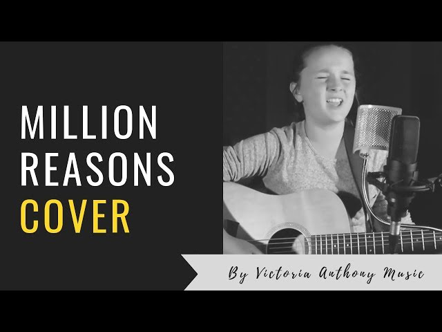 Million Reasons Lady Gaga Acoustic Cover by Victoria Anthony