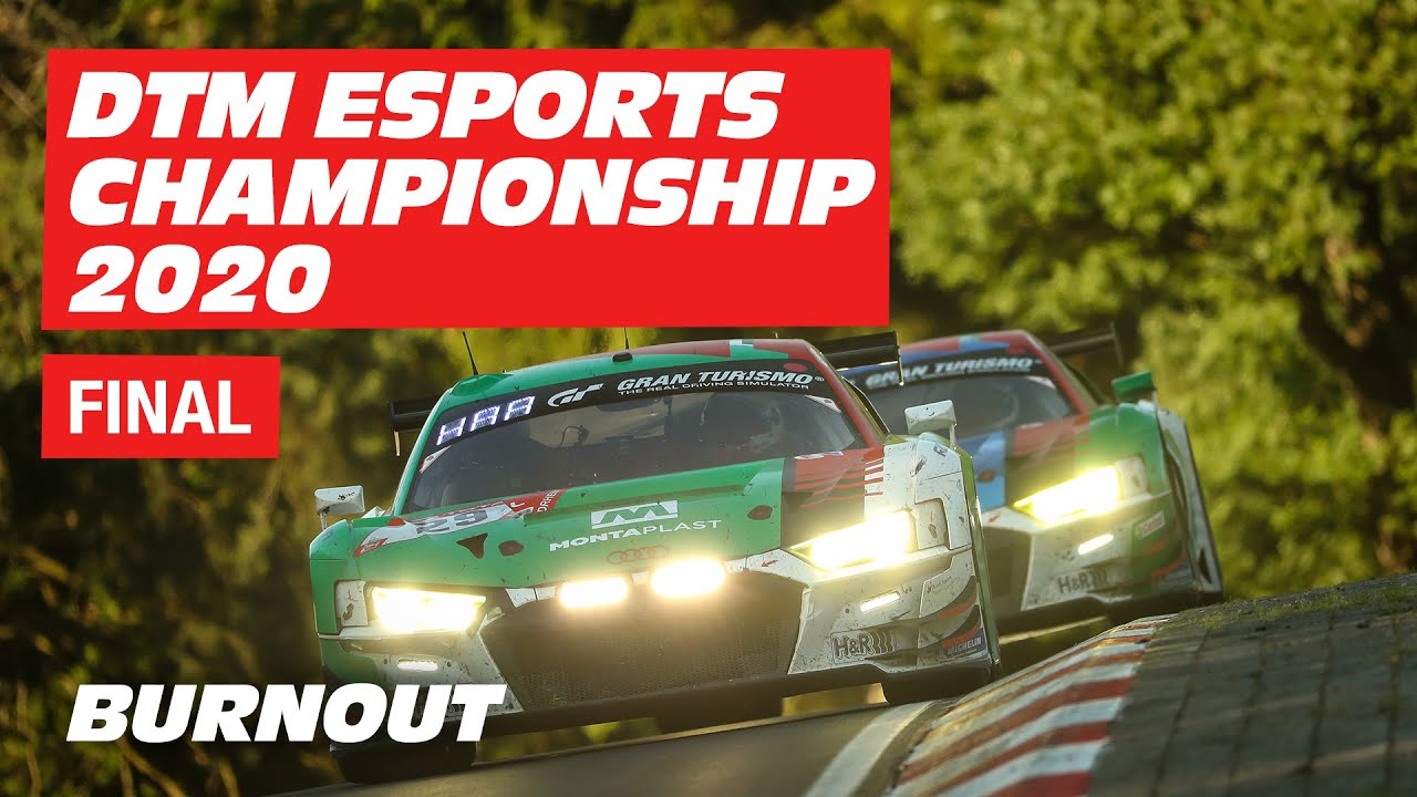 DTM Esports Championship 2020 | Final | Hockenheim | BURNOUT