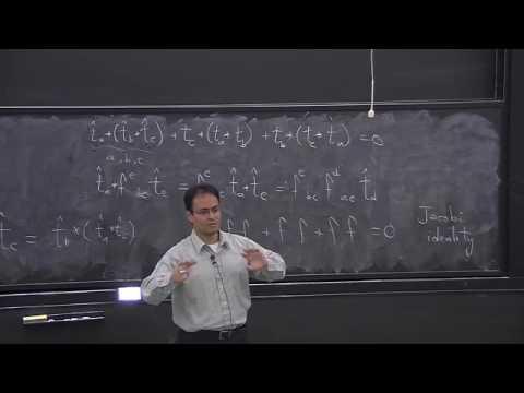 11080122   Lie Groups & Lie Algebras   Lecture 2