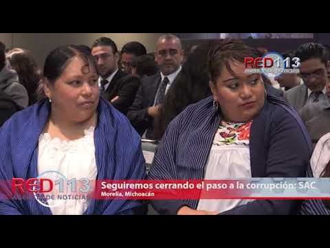 VIDEO Seguiremos cerrando el paso a la corrupción: Silvano Aureoles