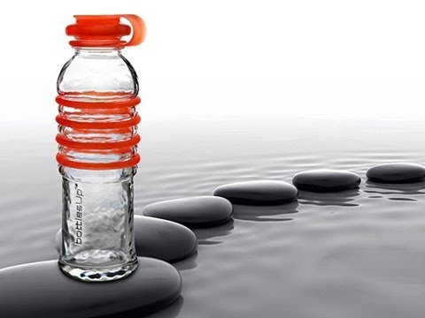 bottlesUp Glass- Recycled Glass Water Bottles