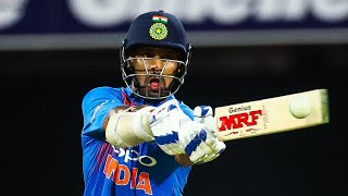 Dhawan dines out on Australia bowling