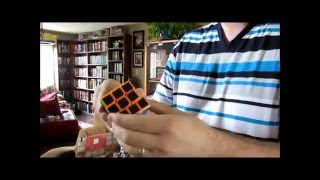 3x3 carbon fiber speed cube