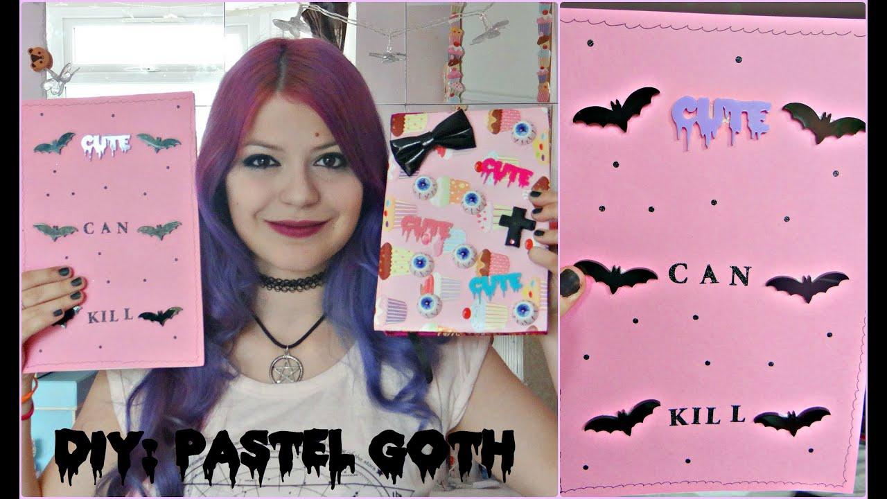 Kawaii Bedroom Ideas Diy Pastel Goth School Supplies 2 Youtube