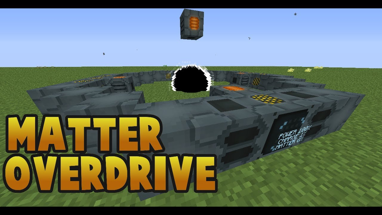 Matter Overdrive 1 7 10 Revisited 2 3 Tutorial Youtube