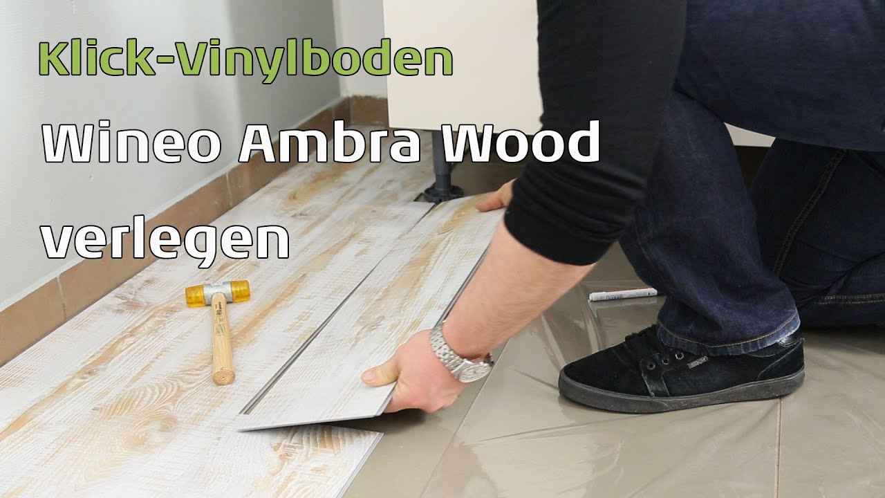 ambra wood wineo klick vinylboden youtube. Black Bedroom Furniture Sets. Home Design Ideas