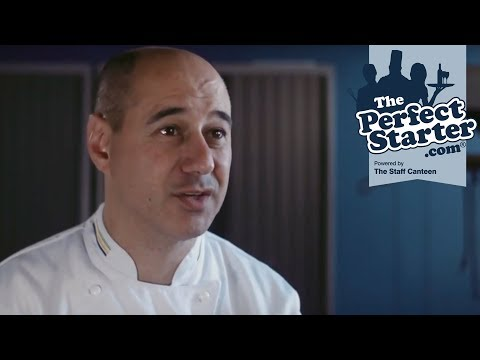 Jose Souto, lecturer in Culinary Arts gives careers advice for chefs