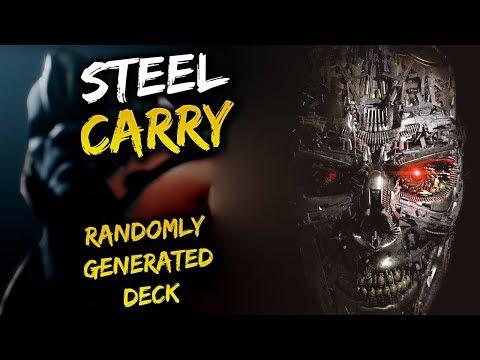 Paragon Steel Carry Gameplay - Randomly Generated Decks!