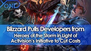 Blizzard Pulls Developers from Heroes of the Storm in Light of Activision