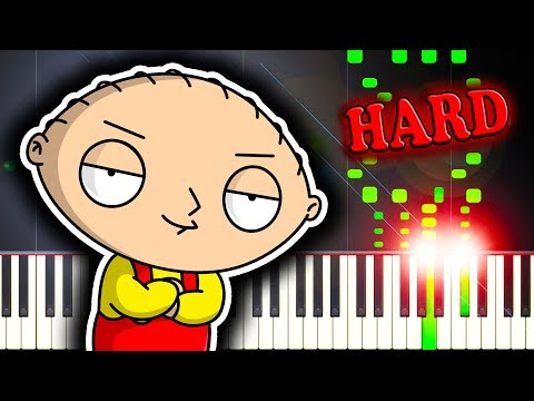 FAMILY GUY THEME SONG - Piano Tutorial