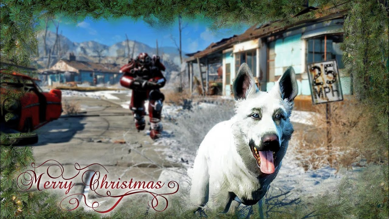 Fallout 4 - Merry Christmas - Winter Wonderland Mod (Cinematic ...