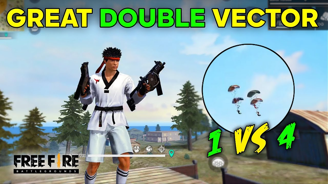 AJJUBHAI THE GREAT DOUBLE VECTOR YODDHA SOLO VS SQUAD BEST GAMEPLAY #41 | FREE FIRE