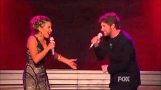 Haley Reinhart & Casey Abrams - Moaning - American Idol Top 8 Results Show - 4/14/2011